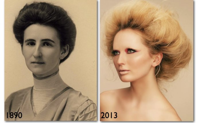 Old fashioned hairstyles for females