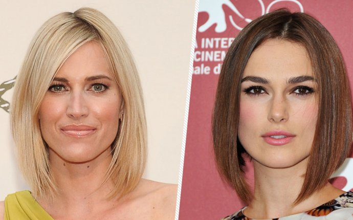 Hairstyles for long bob hair