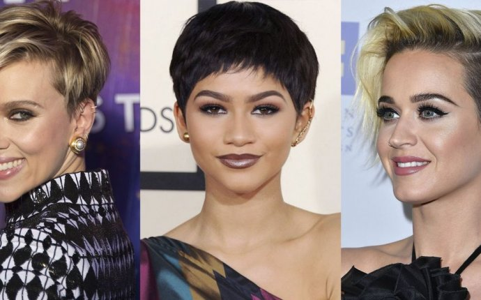 Womens Short cropped hairstyles