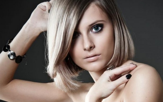 Long bob with fringe hairstyles