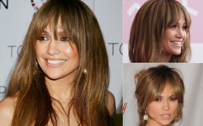 Blonde hairstyles with fringe