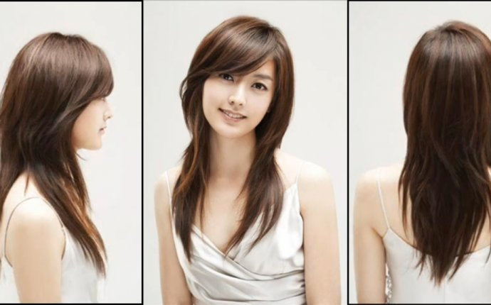 Hairstyles with Side-Swept bangs