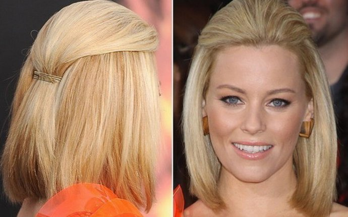 Long bob hairstyles from the back