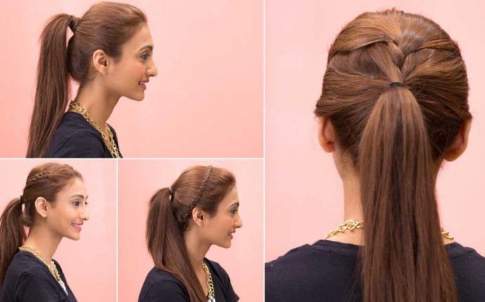 Fashionable Ponytail hairstyles